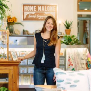 Kristin Malone owner of Home Malone retail store in New Orleans