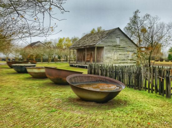 Slave Cabin at Whitney Plantation